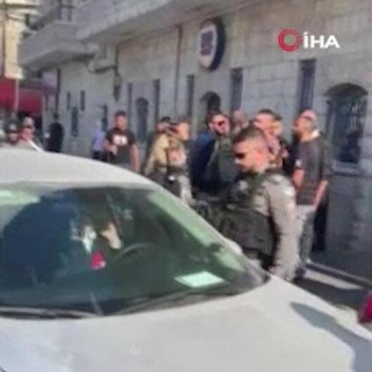 Kudüste İsrailli yerleşimci aracıyla Filistinli genci ezdi