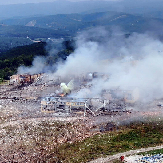 Hendek'teki havai fişek fabrikasındaki sabotaj iddiasına MİT'ten cevap