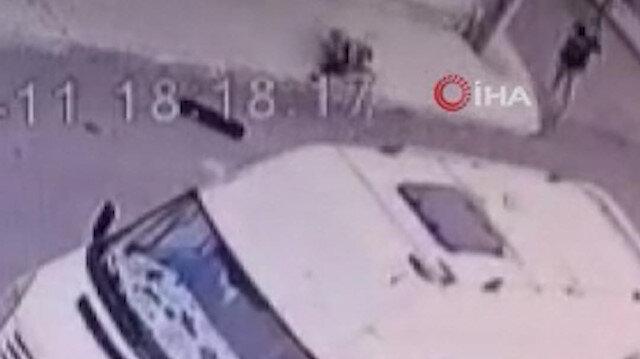 Kaykay süren 8 yaşındaki çocuğa sahipli olduğu iddia edilen pitbull cinsi köpek saldırdı