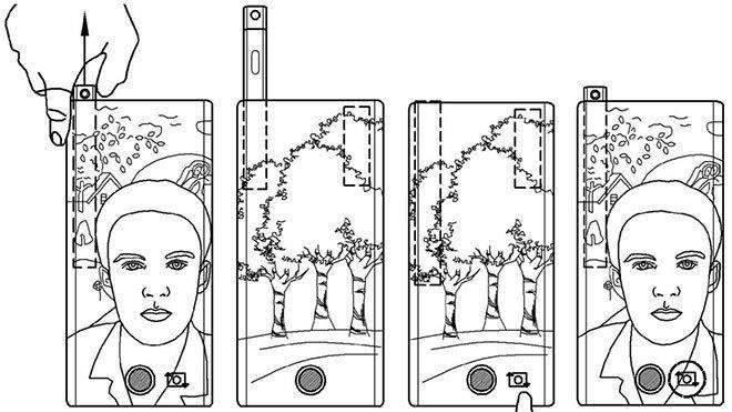 Kameralı S-Pen'in patent görselleri ise bu şekilde.