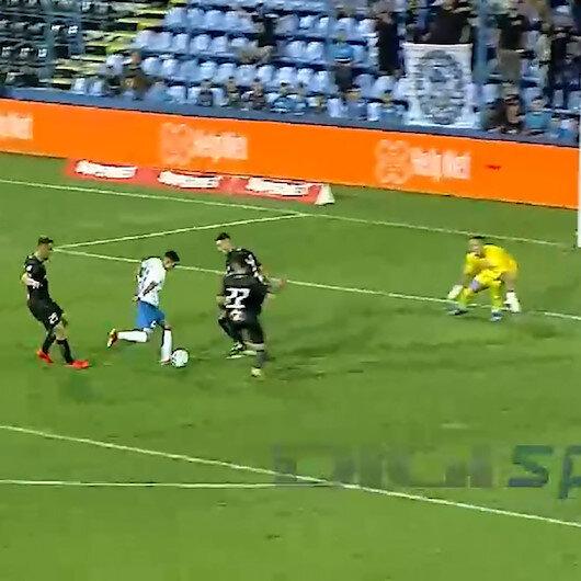 Haginin 15 yaşındaki prensi Enes Saliden tarihe geçen gol