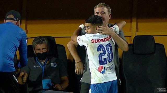 Hagi'nin 15 yaşındaki prensi Enes Sali'den tarihe geçen gol