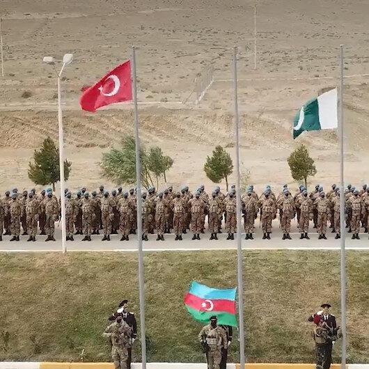 Türkiye Azerbaycan ve Pakistandan Üç Kardeş 2021 ortak askeri tatbikatı
