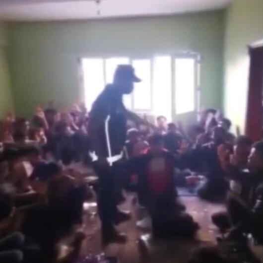 Polis ekipleri Vanda son bir haftada 299 düzensiz göçmen yakaladı