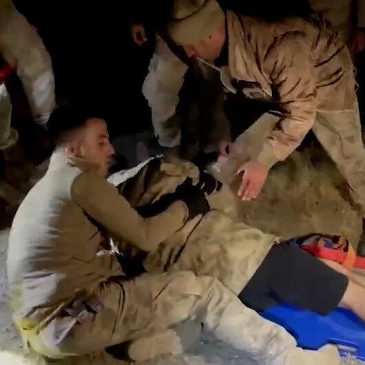 Nemrut Dağında mahsur kalan dağcıların yardımına jandarma yetişti