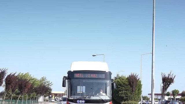 Balıkesir'de otobüse binen şehit yakınları ve gazilere duygulandıran anons: Vatan size minnettar