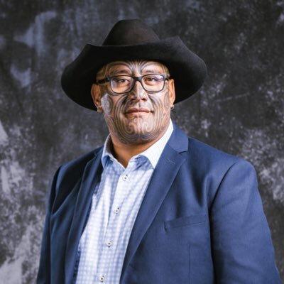 Maori Partisi eş başkanı Rawiri Waititi
