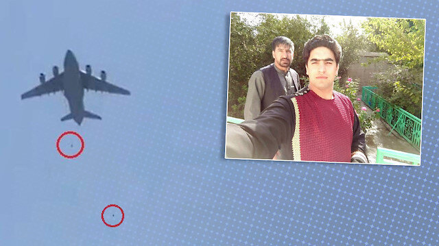 Afganistan'da uçaktan düşen gencin babası konuştu: Giderken yoldan bir tabut aldık
