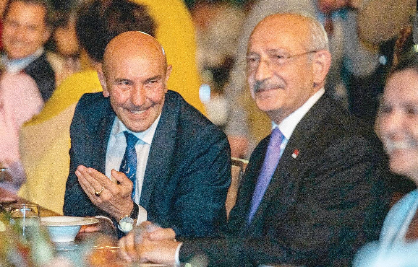 Kılıçdaroğlu, Soyer ve CHP'nin önemli isimleri etkinliğe katıldı.