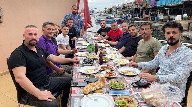 Trabzonspor'da buzları eriten yemek