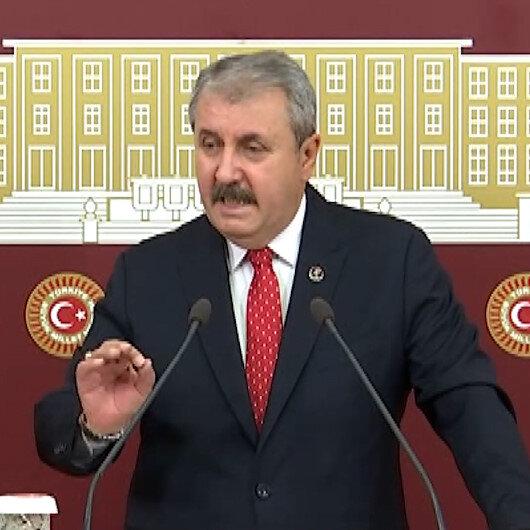 BBP Genel Başkanı Destici: Akşener HDPyi PKKnın yanında konumlandırıyorsa kendi ağzından duymak istiyoruz