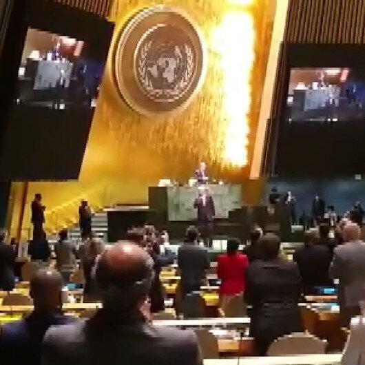 Cumhurbaşkanı Erdoğandan BM Genel Kurul Başkanlığı görev süresini tamamlayan Bozkıra tebrik mesajı
