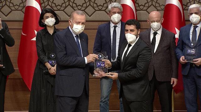 Albayrak Medya'ya Altıncı Anadolu Medya töreninde çifte ödül