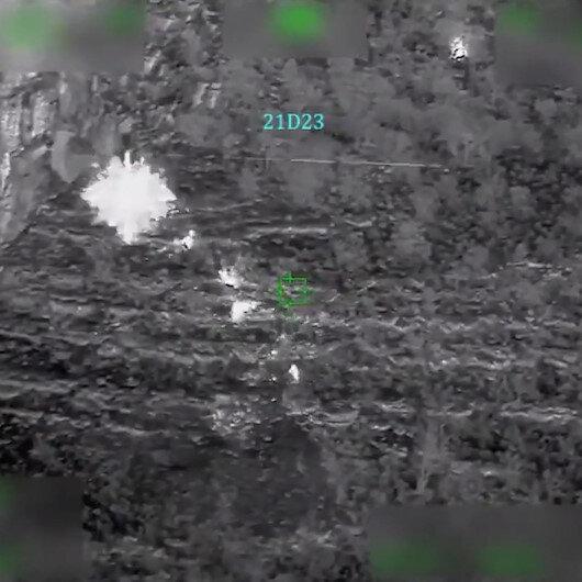 MSB: Pençe Şimşek operasyonda tespit edilen 4 terörist ATAK helikopterleri ile etkisiz hale getirildi