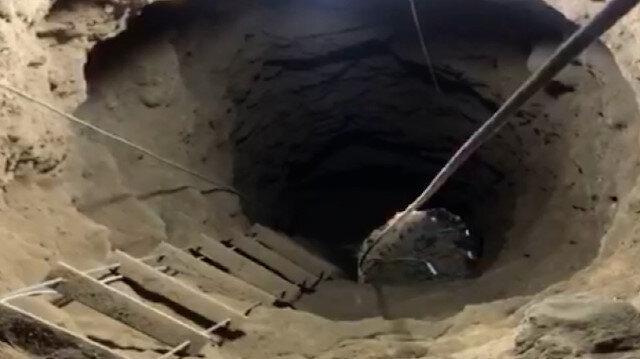 Niğde'de kaçak kazı operasyonu Evin altına 13 metre tünel kazdılar