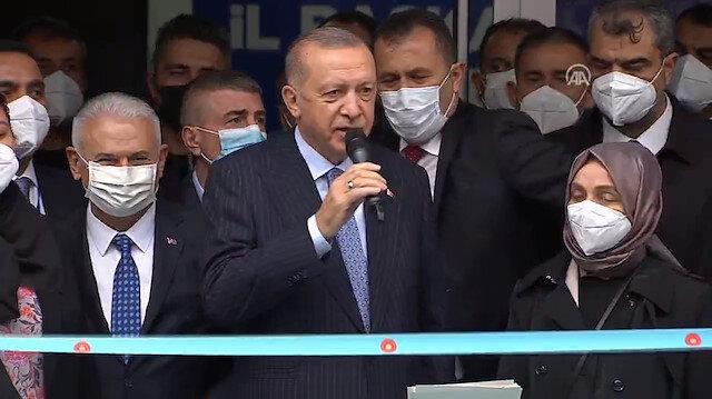 Cumhurbaşkanı Erdoğan 'AK Parti Kırşehir İl Başkanlığı Binası Açılış Töreni'ne katıldı