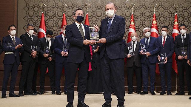 Fahrettin Altun: Bu kıymetli ödülü Cumhurbaşkanımızın elinden almak bizim için çok büyük bir gurur