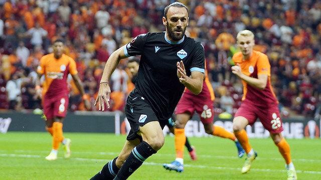 Galatasaray-Lazio maçında Vedat Muriç'i şoke eden anlar
