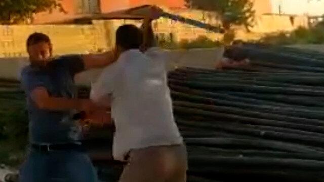 Şanlıurfa'da çocuk kavgası büyüklerin sopalı kavgasına dönüştü