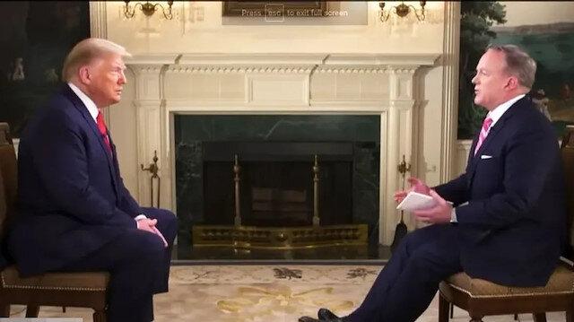 Trump 'Üç yıl içinde ABD diye bir ülke kalmayacak' deyince sunucu röportajı sonlandırdı