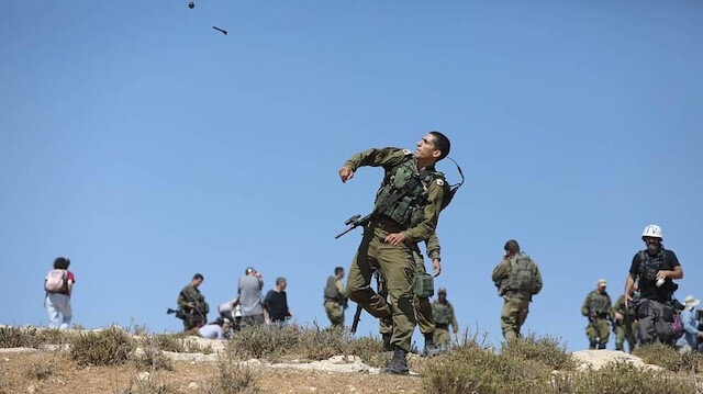 İşgalci İsrail'den Filistinlilere plastik mermi ve göz yaşartıcı gazla müdahale: 46 yaralı