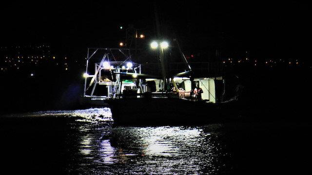 Yasak kalktı tekneler balık doldu