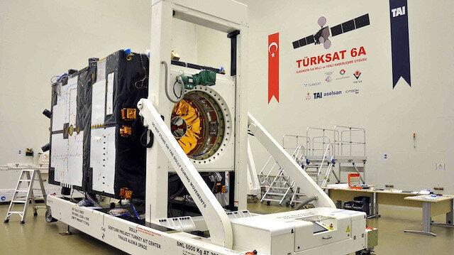 Türksat 6A 2023'de fırlatılacak