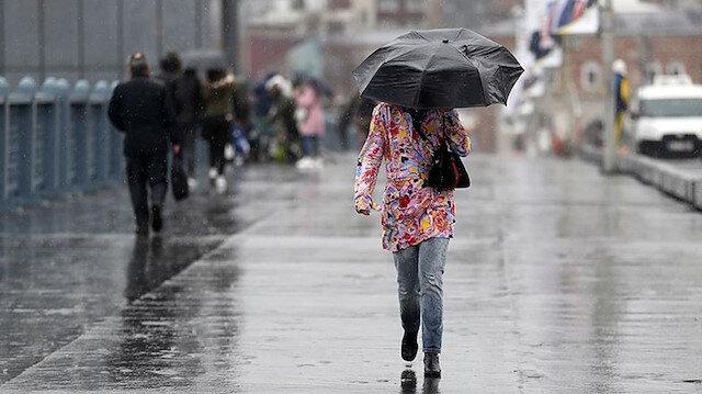 Yağışlar yön değiştirdi: Meteoroloji'den sağanak uyarısı