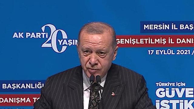 Cumhurbaşkanı Erdoğan: Muhalefetin yalandan slogandan tahrikten başka siyasi vizyonları yok