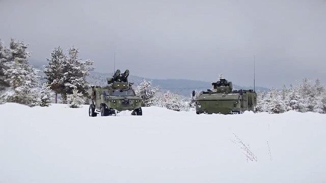 Tank avcıları Kaplan ve Pars araçlarının TSK'ya teslimatı sürüyor