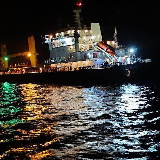 Çanakkale Boğazı açıklarında gemi kazası: İki gemi çatıştı
