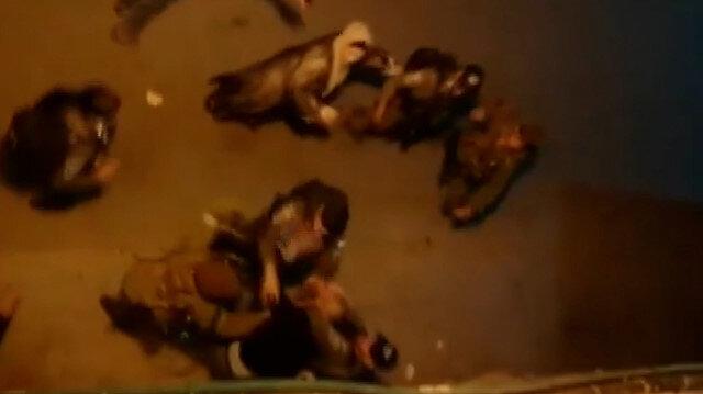 İşgalci İsrail polisi Filistinli bir aileye saldırdı