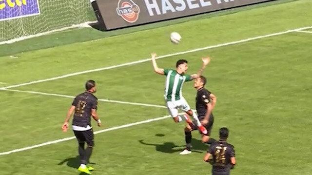 GZT Giresunspor-Konyaspor maçında Volkan Bayarslan'a büyük tepki