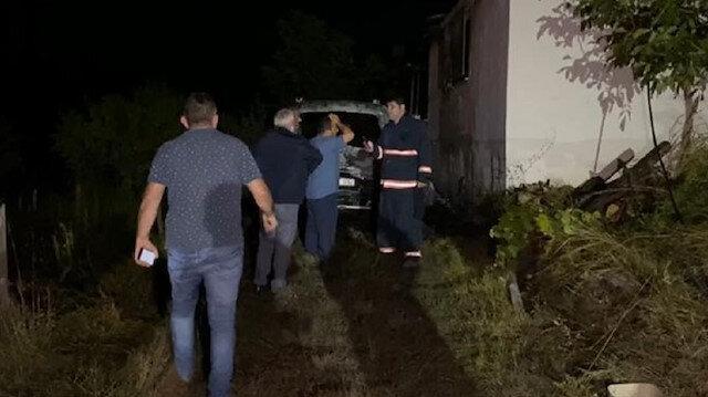 Misafirliğe gittikleri evde acı son: Çıkan yangında baba ve üç çocuğu yaşamını yitirdi