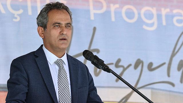 Milli Eğitim Bakanı Özer: Yüz yüze eğitim milli güvenlik meselesi