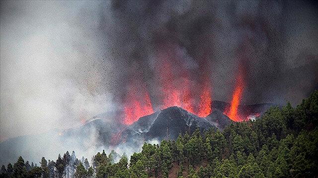 La Palma Yanardağı 100'den fazla evi yok etti