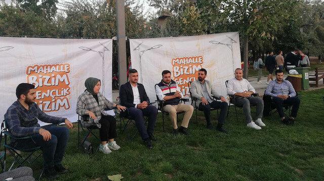 """AK Parti Çankaya Gençlik Kolları'nın buluşması """"Burası CHP'li belediye"""" denilerek engellendi"""