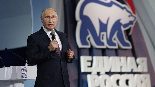 Rusya'daki seçimlerin galibi Putin'in partisi oldu