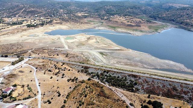 Bodrum'da tehlike çanları: Mumcular Barajı'nın doluluk oranı yüzde 10'un altında