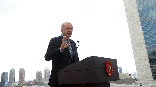 Cumhurbaşkanı Erdoğan: Türkevi Türkiye'nin büyüklüğünü ve artan gücünü yansıtacak