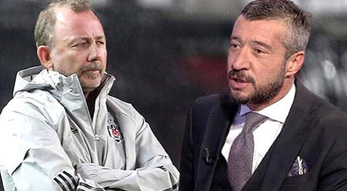 Sergen Yalçın ve Tümer Metin futbolculukları döneminde Beşiktaş'ta birlikte forma giymişlerdi.