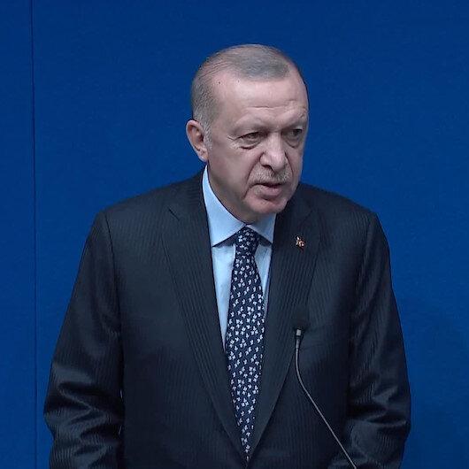 Cumhurbaşkanı Erdoğan: Terör örgütlerine kaptıracak tek bir evladımız yok