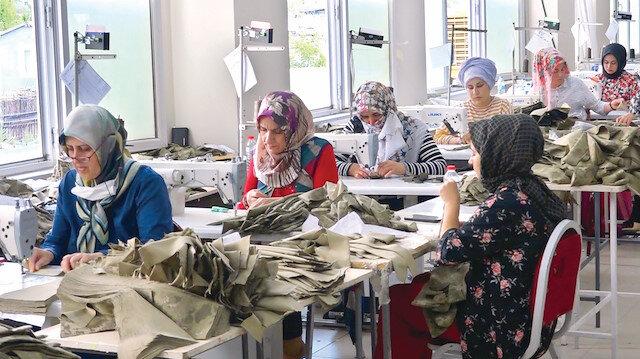 Teşvikler kadın çalışana yaradı