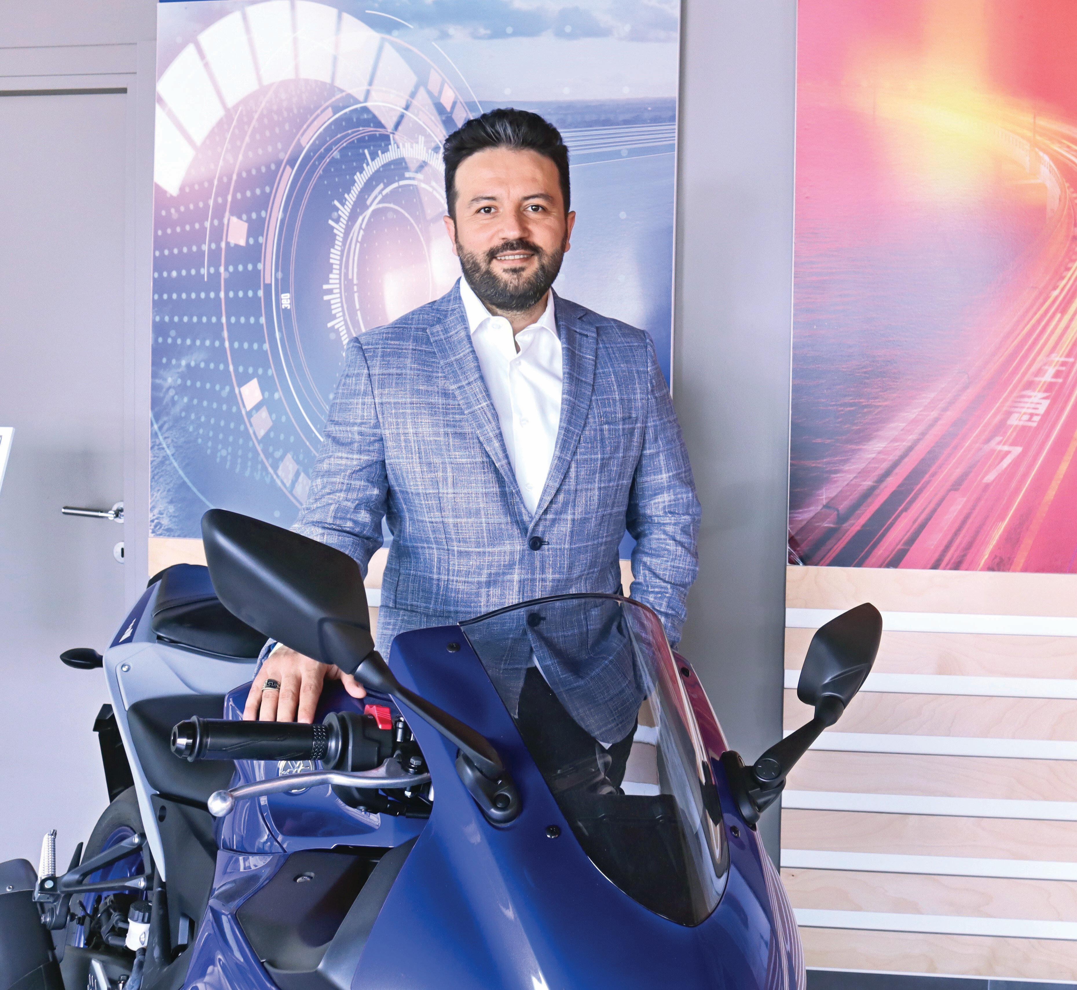 Yamaha Motor Türkiye Ülke Direktörü Hakan Kaya