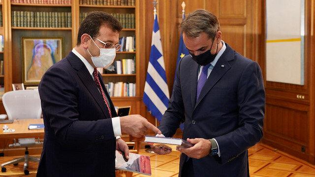Ekrem İmamoğlu Türkiye'yi Yunan medyasına şikayet etti