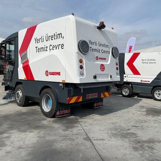 Türk mühendislerin başarısı: KADEME'nin temizlik araçları da TEKNOFEST'te