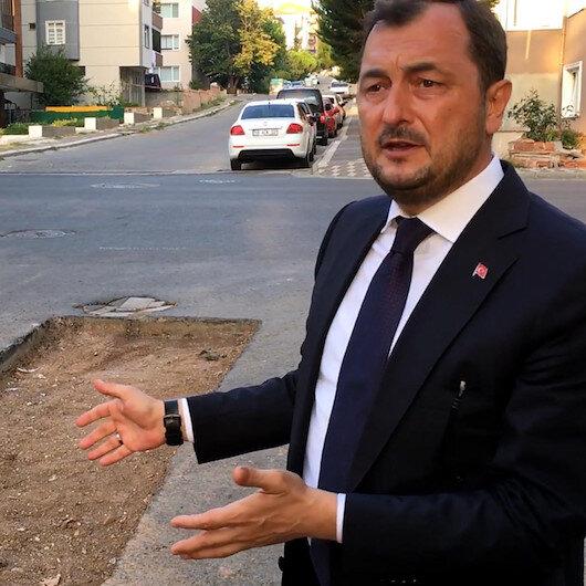 AK Partili Süleymanpaşa Belediyesinin yaptığı yolları CHPli Tekirdağ Büyükşehir Belediyesi ekipleri delik deşik etti : Aldığınız para haram