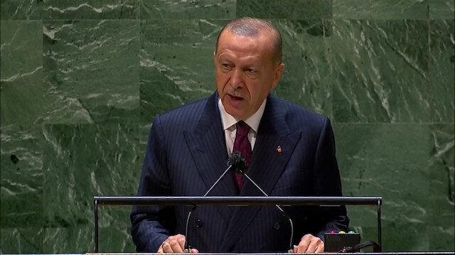 Cumhurbaşkanı Erdoğan: İsrail'in Filistin halkına zulmü sürdükçe Ortadoğu'da barış sağlanamaz