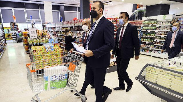 Marketlere fahiş fiyat denetimi: 110 bin liraya kadar ceza kesiliyor