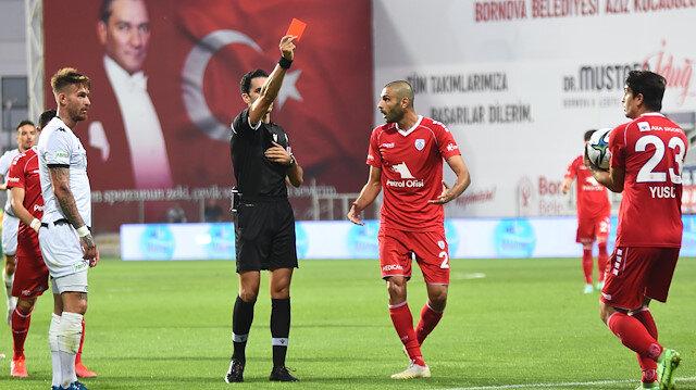 En agresif takım oldular: 6 maçta 4 kırmızı kart